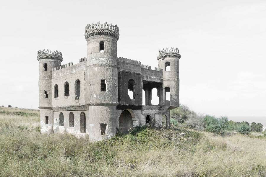 Unfinished Castle. Incomplete by Claudio Verbano