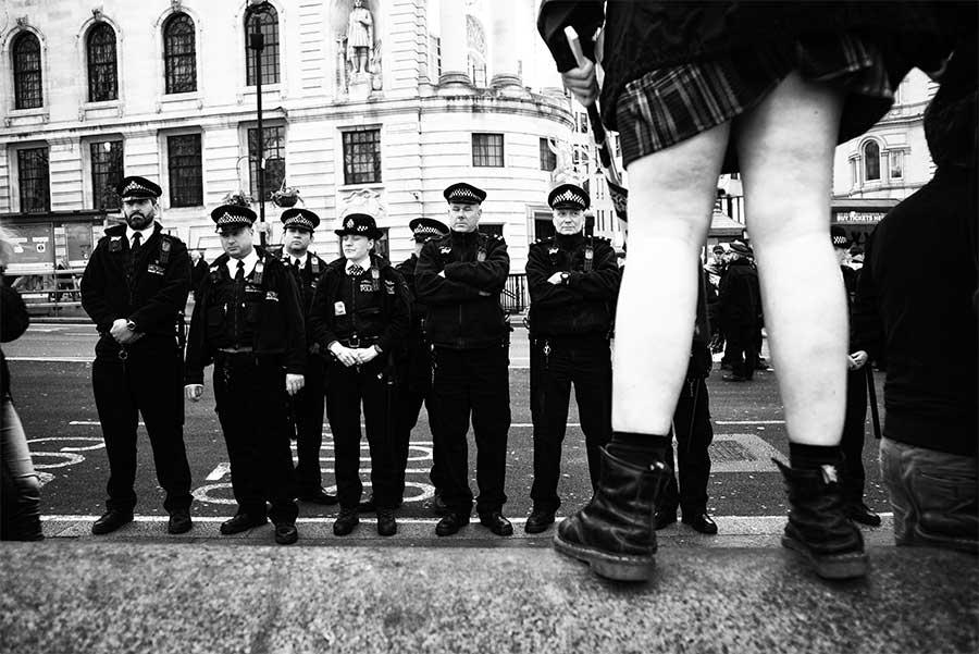 From the Britain is Broken demonstration, London, UK by David Sladek