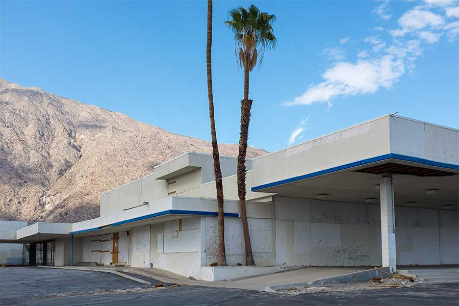 Dealership, Palm Springs. 2015. From the series Public Spaces by Michael P Martin.