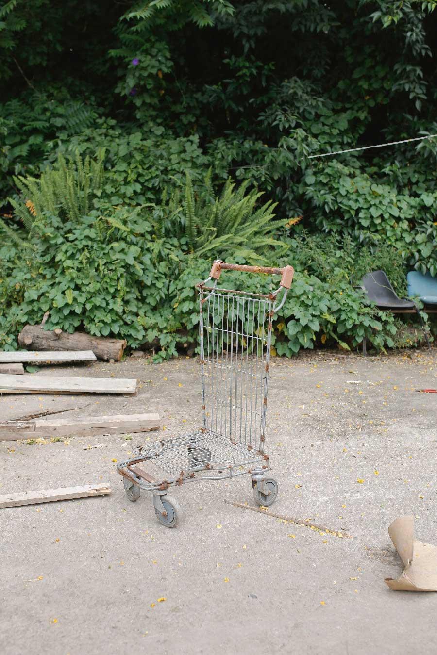 Cart from the series Turning Light by Jenni Emilia Toivonen