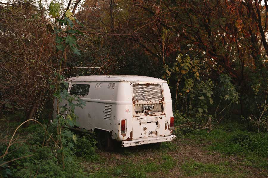 Bus from the series Turning Light by Jenni Emilia Toivonen