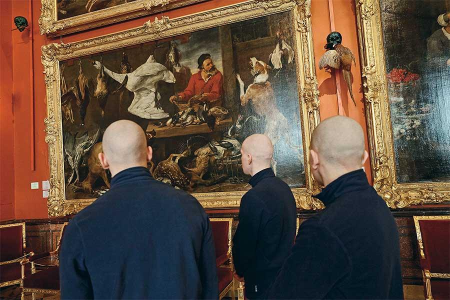 Prisoners in the Hermitage from the series Boys by Tatiana Bondareva