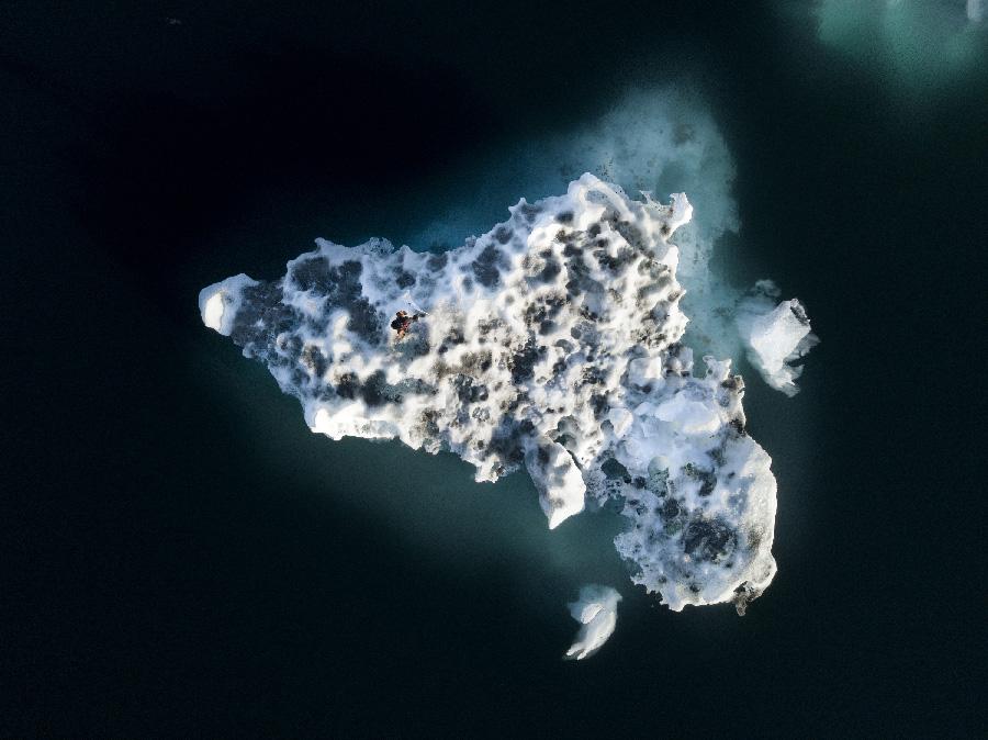 ICEBERG NATIONS by RUBEN MARTIN DE LUCAS