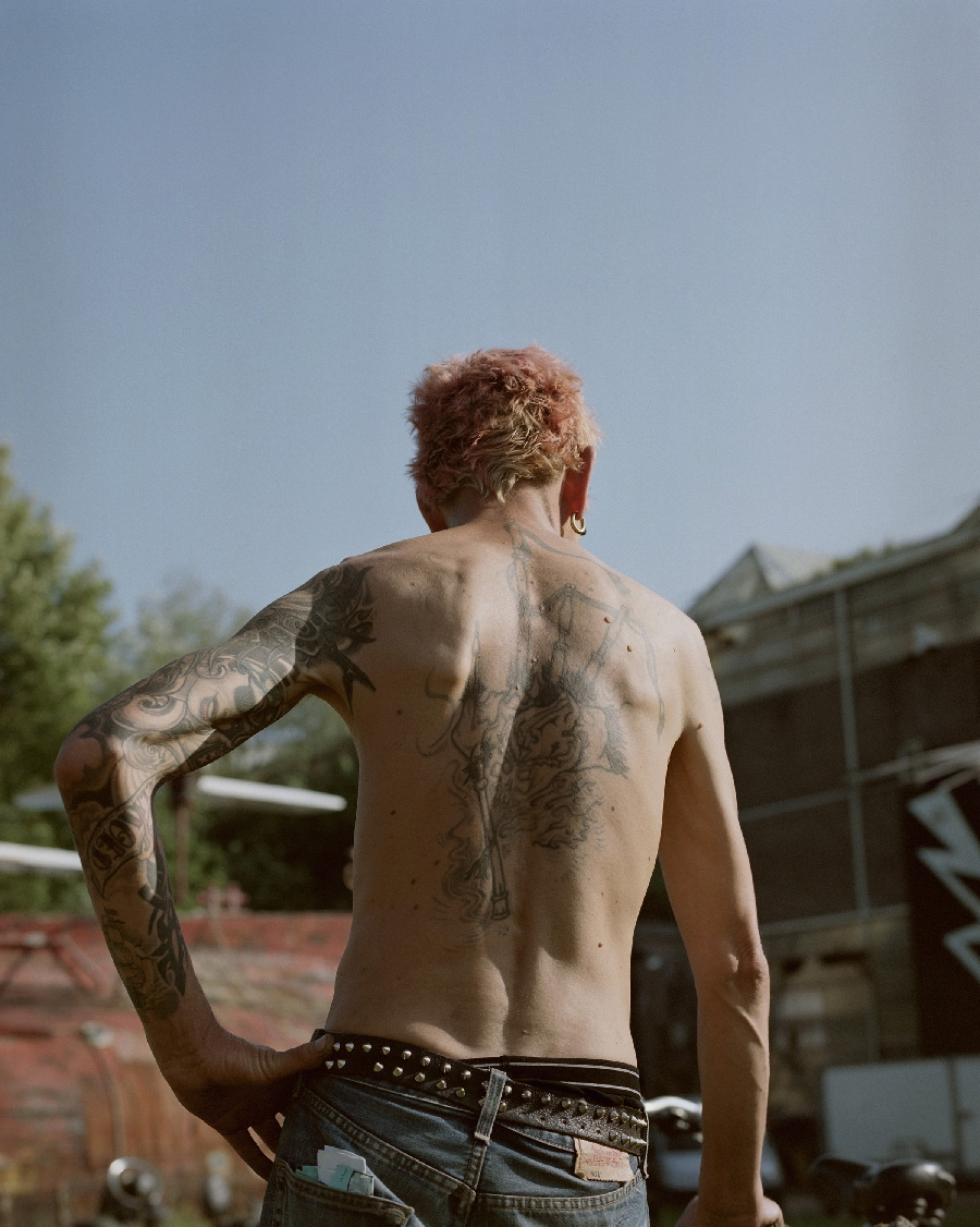 Untitled (tattoo), ADM, 2018 by Sem Langendijk