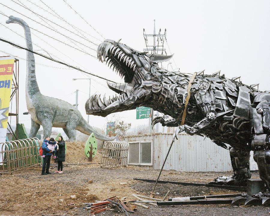 Dinosaur Theme Park 2018 from the series Better Days by Seunggu Kim