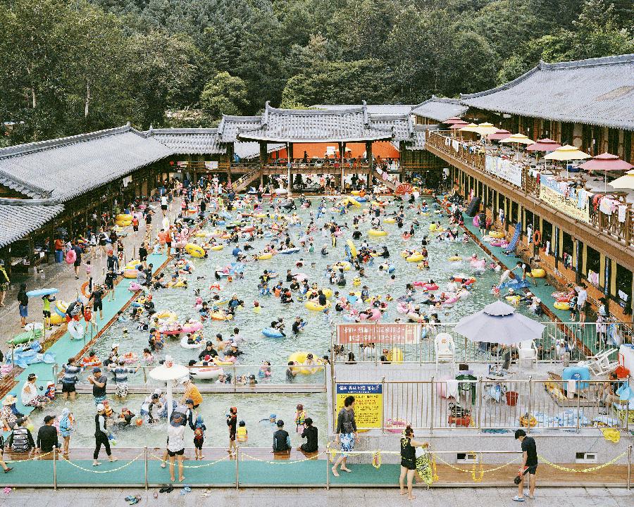 Hanok Swimming Pool 2017 from the series Better Days by Seunggu Kim