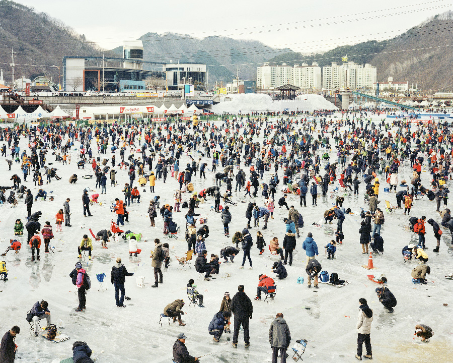 Ice Fishing 2014 from the series Better Days by Seunggu Kim
