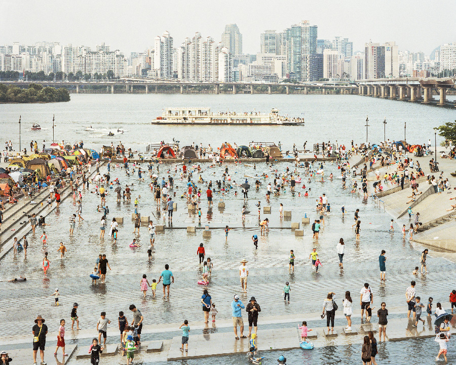 Mulbit Park 2018 from the series Better Days by Seunggu Kim