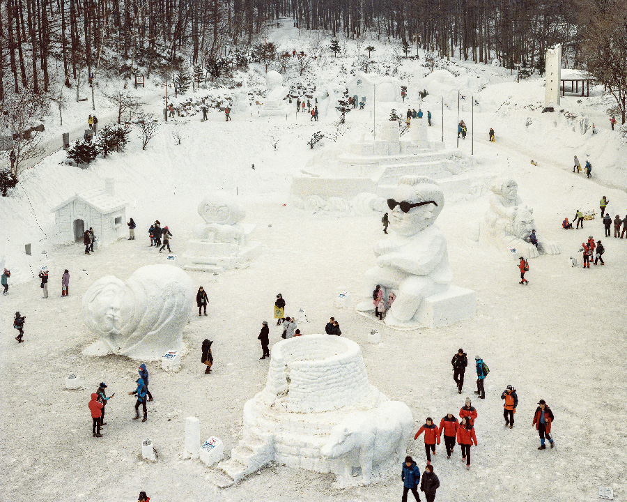 Snow Festival 2014 from the series Better Days by Seunggu Kim